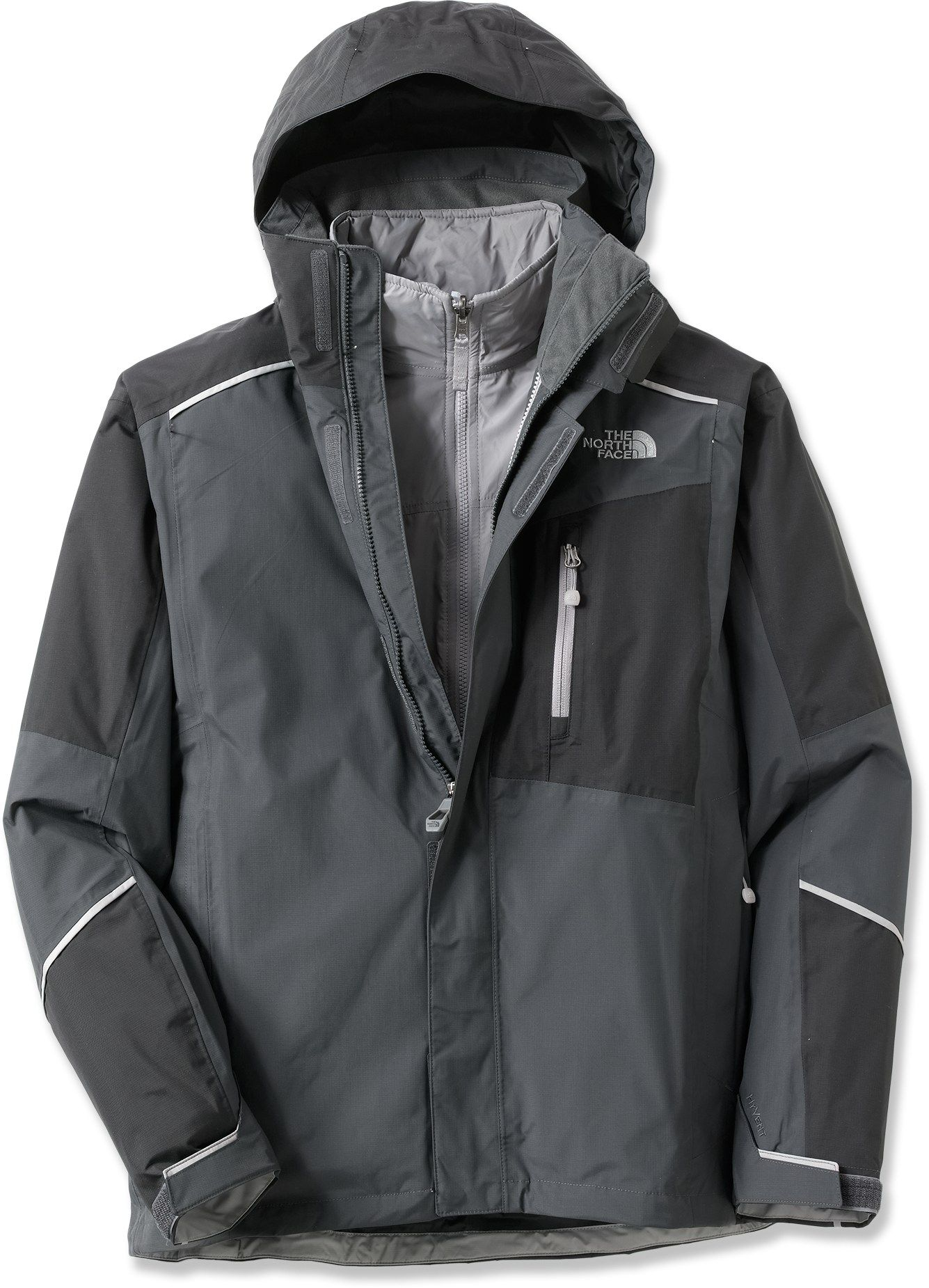 The North Face Beckett Triclimate 3 In 1 Insulated Jacket Men S Rei Co Op Lightweight Warm Jacket Mens Jackets North Face Jacket [ 1850 x 1335 Pixel ]