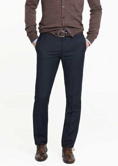 Pantalon de costume slim-fit