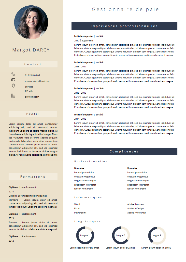 Pin By Pauline Duclos On Cv Lm In 2020 Resume Templates Resume Templates