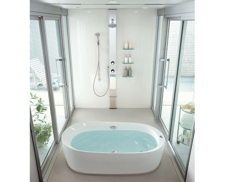 フリースタンド浴槽 イメージ 浴槽 リフォーム インテリア バスルームシャワー