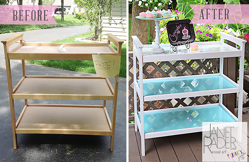 Repurposed Changing Table Diy Diy Furniture Projects Changing