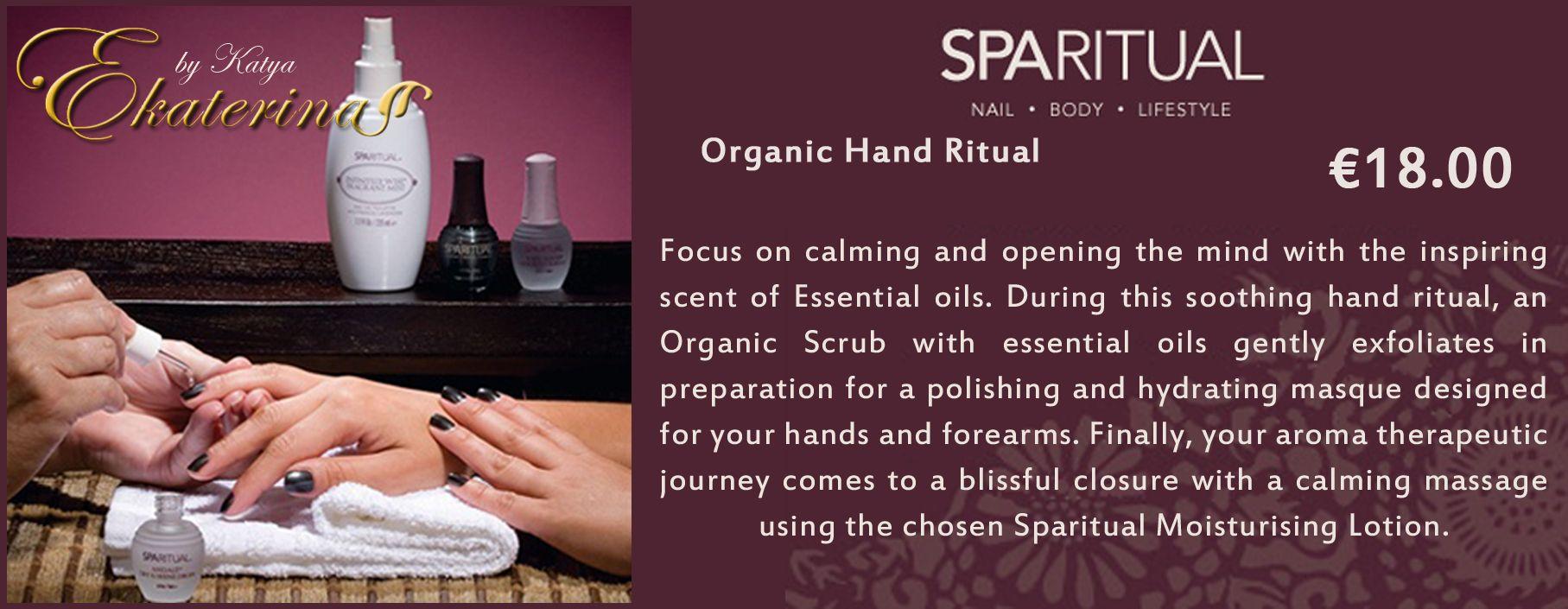 Organic Hand Ritual