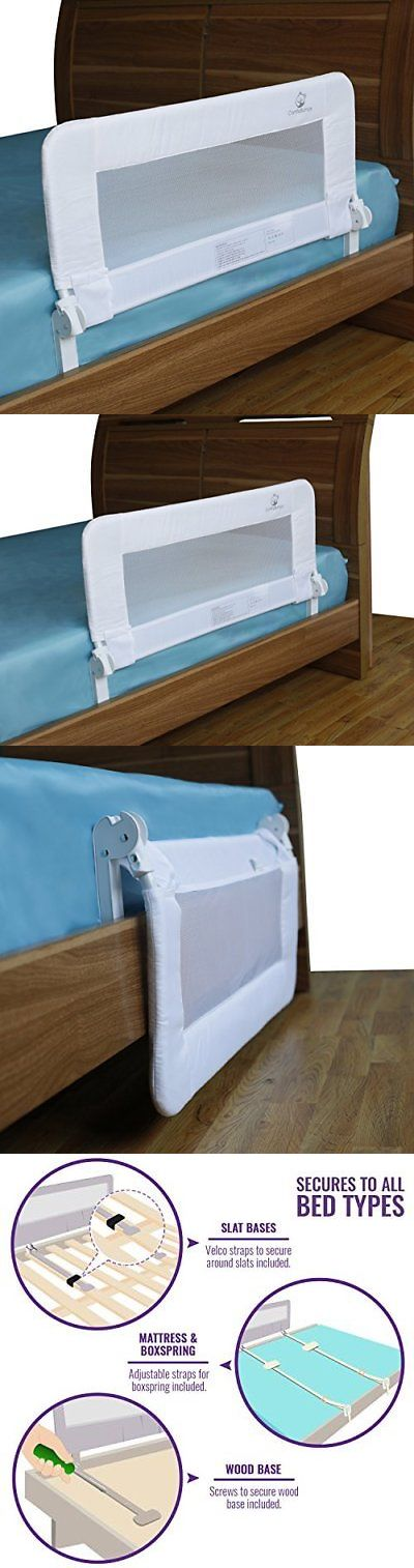 Bed Rails 162183 Toddler Rail Guard For Convertible Crib Kids Twin Double Full Size