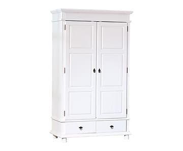 armario de 2 puertas en madera maciza de pino danz