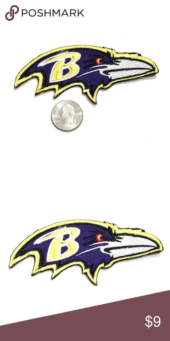 b373bdb5067473 Ravens Patch iron on Baltimore NFL football DIY Baltimore Ravens Iron On Patch  Patches NFL Football Team Game Spirit Gear Customize Super bowl Variety of  ...