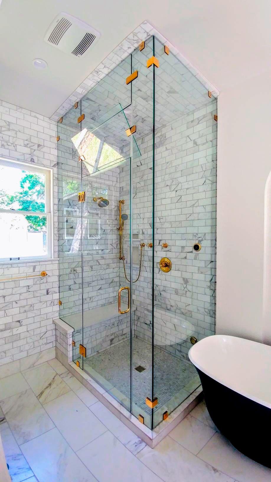 Steam Shower Installation In Austin Frameless Shower Doors
