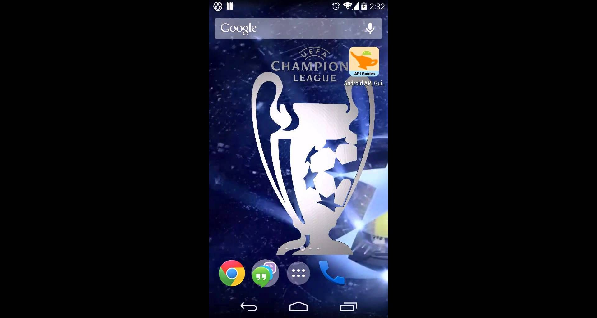 champions league 3d live wallpaper for android youtube