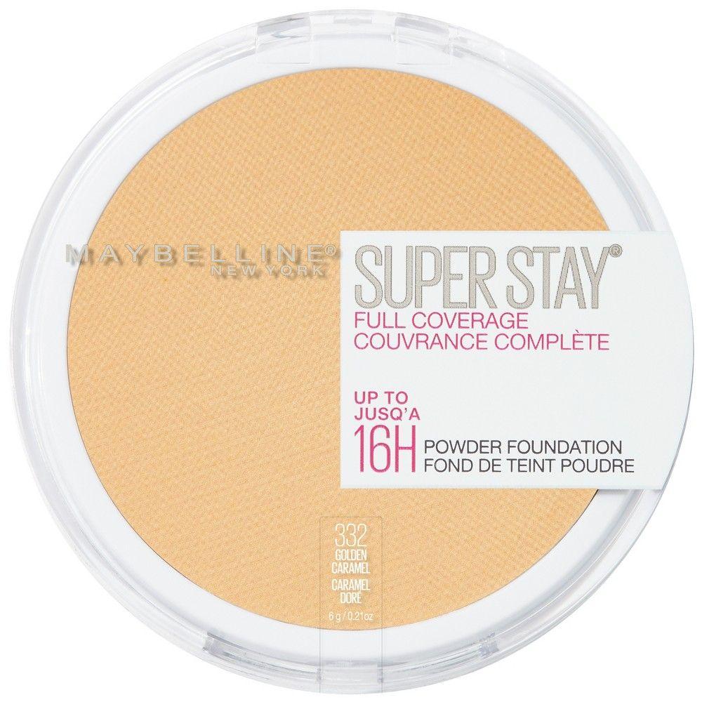 8ecd729698d Maybelline Superstay Powder Foundation 332 Golden Caramel - 0.18oz ...