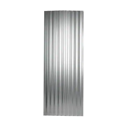 Metal Sales 2 Ft X 8 Ft Corrugated Silver Steel Roof Panel Lowes Com In 2020 Corrugated Metal Roof Panels Corrugated Metal Roof Metal Roof Panels