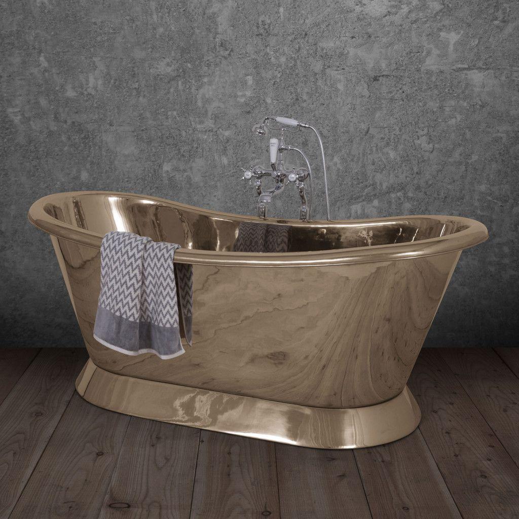Brass Bateau Bath By Hurlingham Baths Roll Top Bath Hurlingham