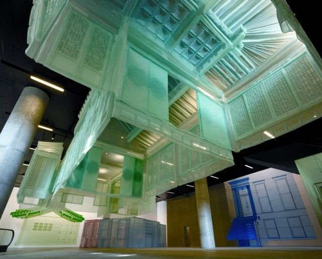 Amazing Fabric House Models By Do Ho Suh Do Ho Suh Installation Art Architecture