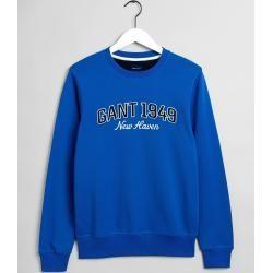 Photo of Gant 1949 Rundhals-Sweatshirt (Blau) Gant