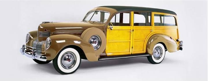 Coach-built 1939 Chrysler Imperial 8-Cylinder Station Wagon by Bohman & Schwartz