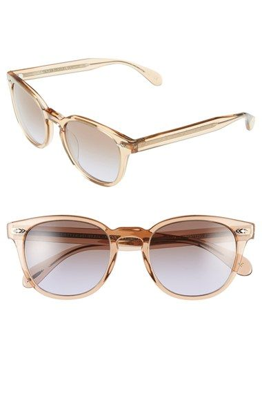 2c29988b62e9 Oliver Peoples  Sheldrake Plus  52mm Retro Sunglasses available at   Nordstrom