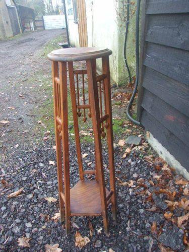 Vintage Plant Stand Jardiniere Arts Amp Crafts