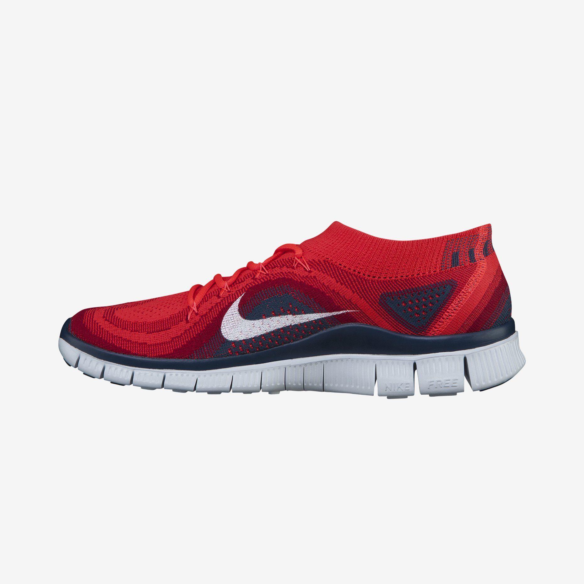 los angeles e822f b5eb5 Nike Free Flyknit+ Men s Running Shoe