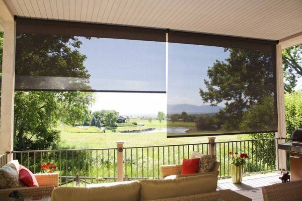 Balcony Sun Shade Ideas Little Piece Of Me Blindsandcurtainsbaywindow