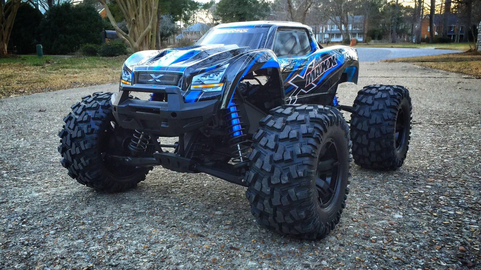 Traxxas XMaxx BreakIn Run Traxxas, Rc cars, Monster trucks