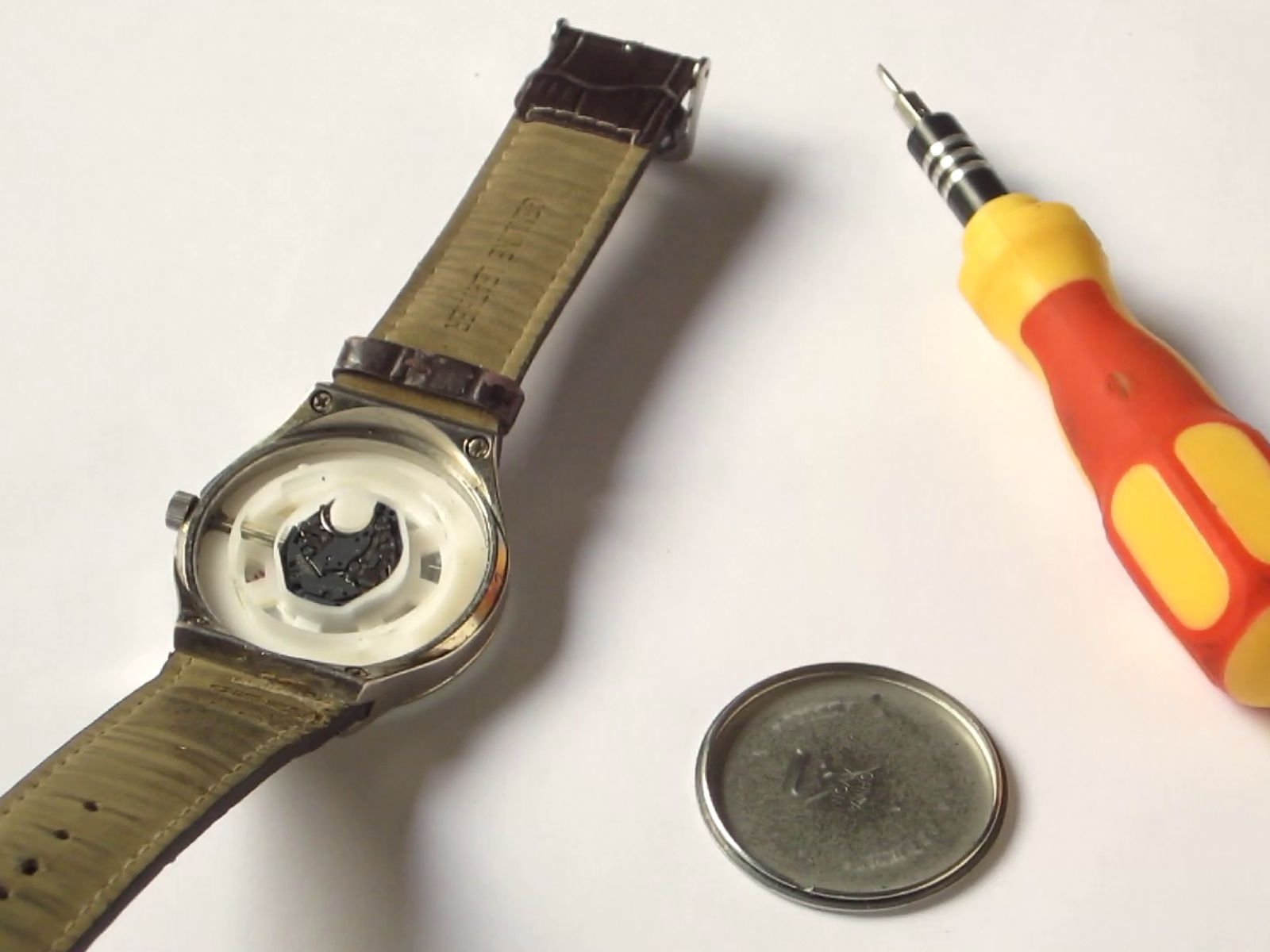 Change a Watch Battery Without Tools Watches, Change, Tools