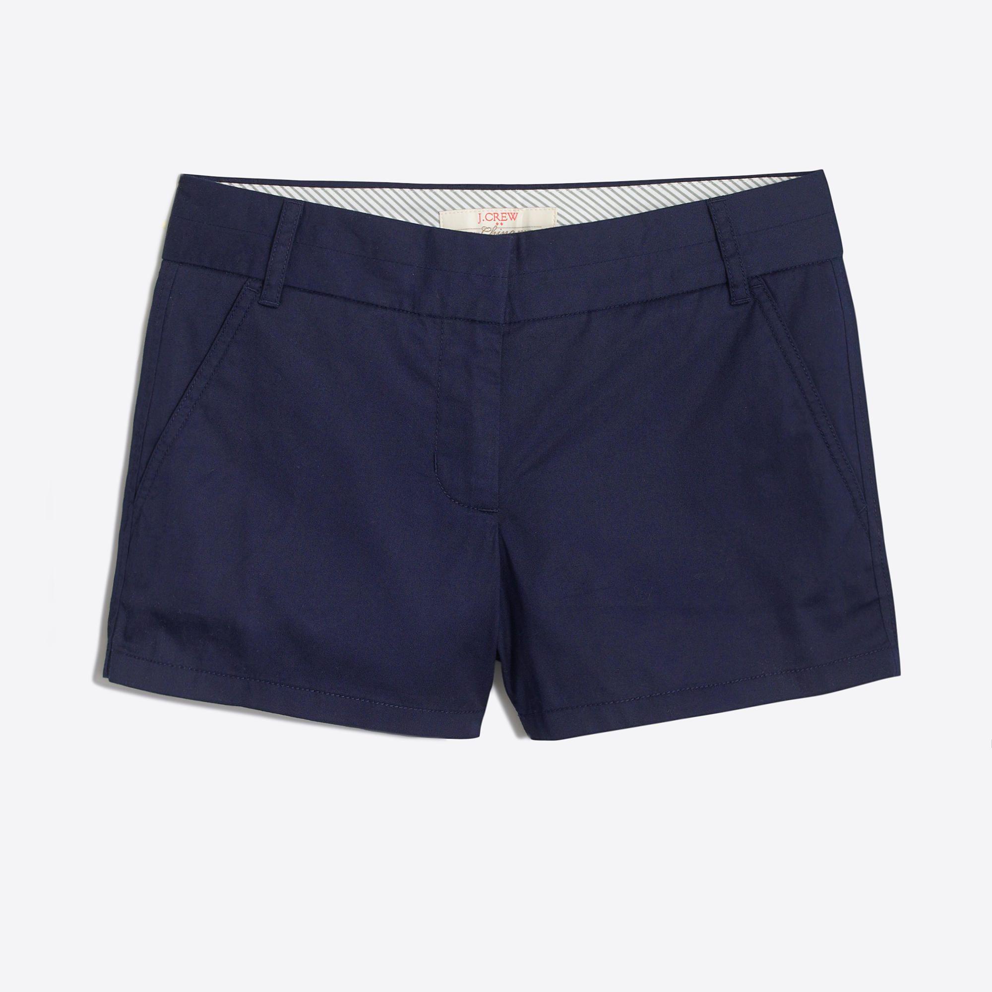 black chino shorts womens