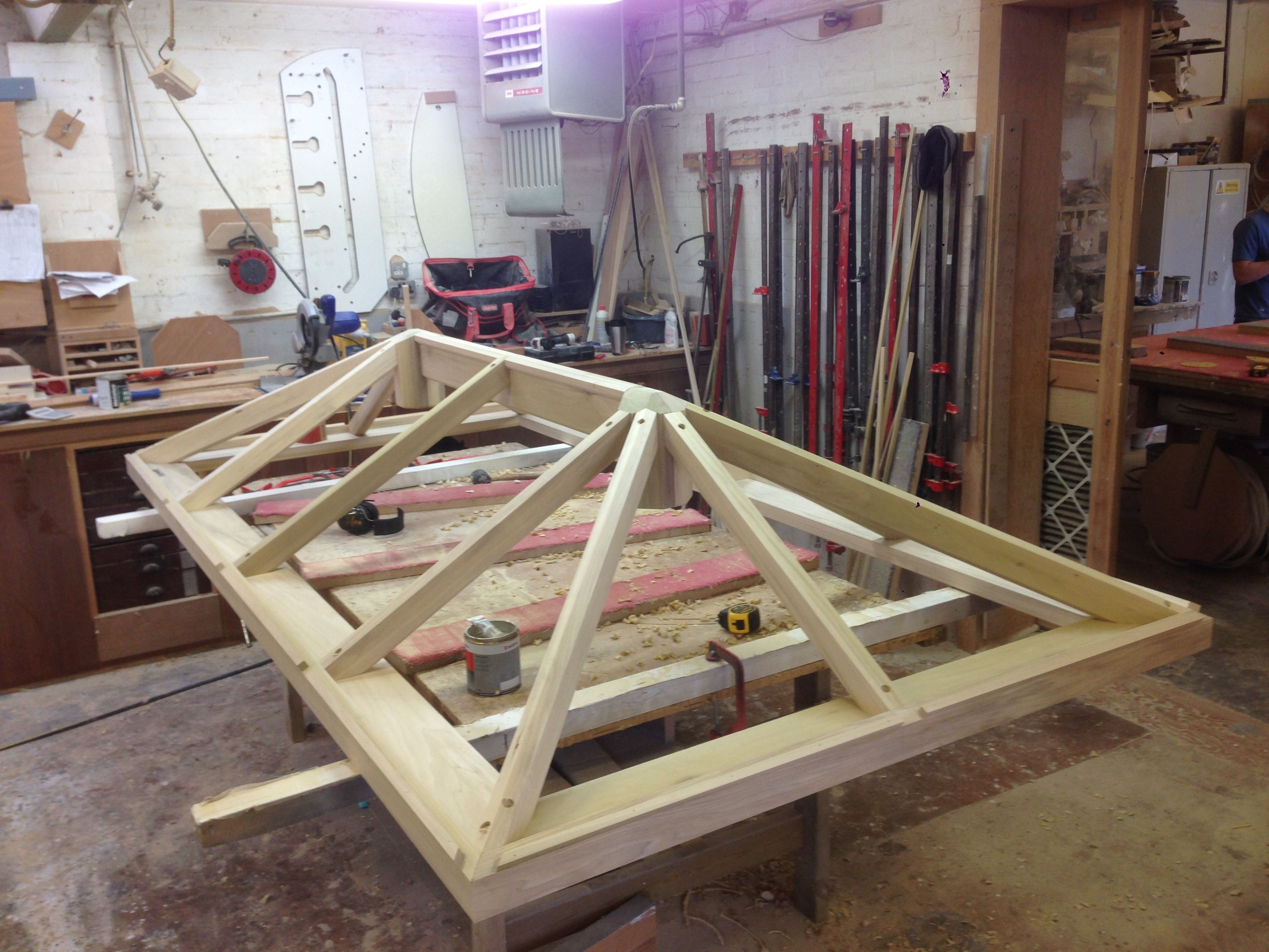 Best Building A Timber Roof Lantern Timber Roof Roof Lantern Orangery Roof 400 x 300