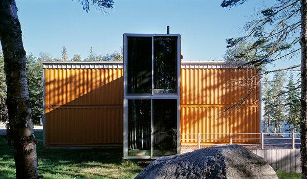 Visite Privée  Une Maison Fabriquée à Partir de 12 Containers House