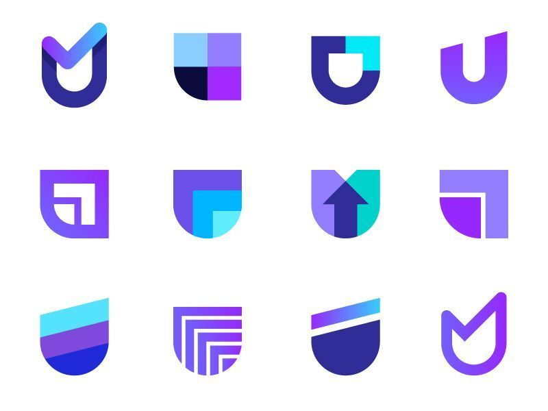 Logo concepts for UplyftCapital crypto currency