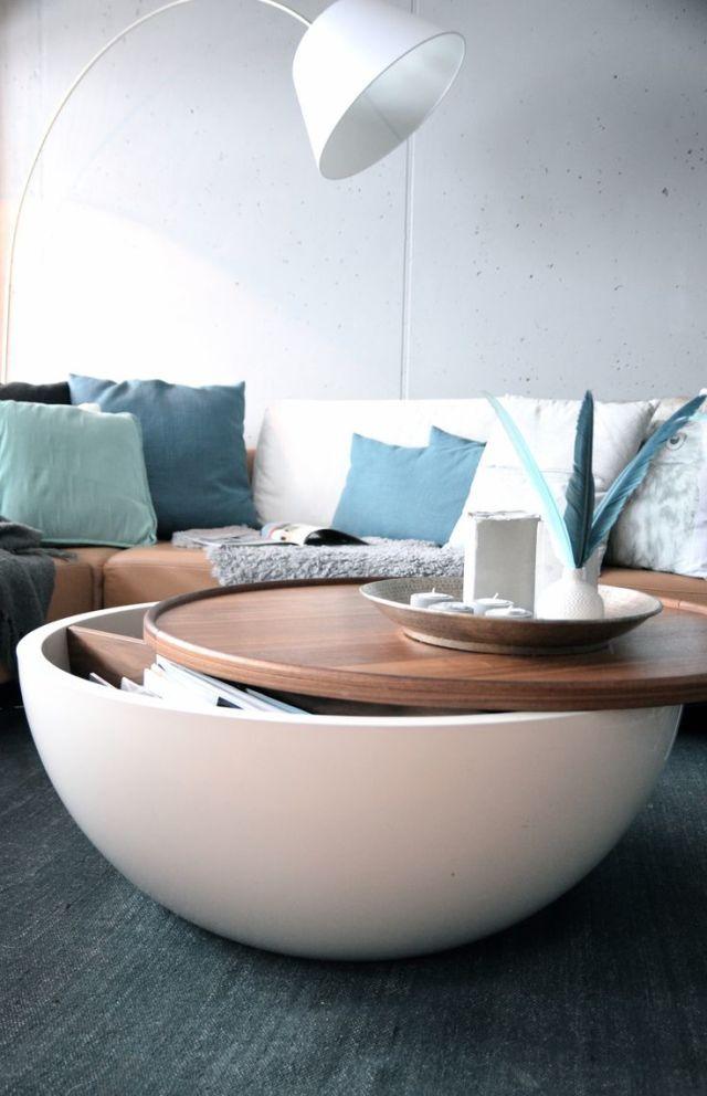 Living Room Design Ideas 50 Inspirational Center Tables Quirky Home Decor Coffee Table Decor