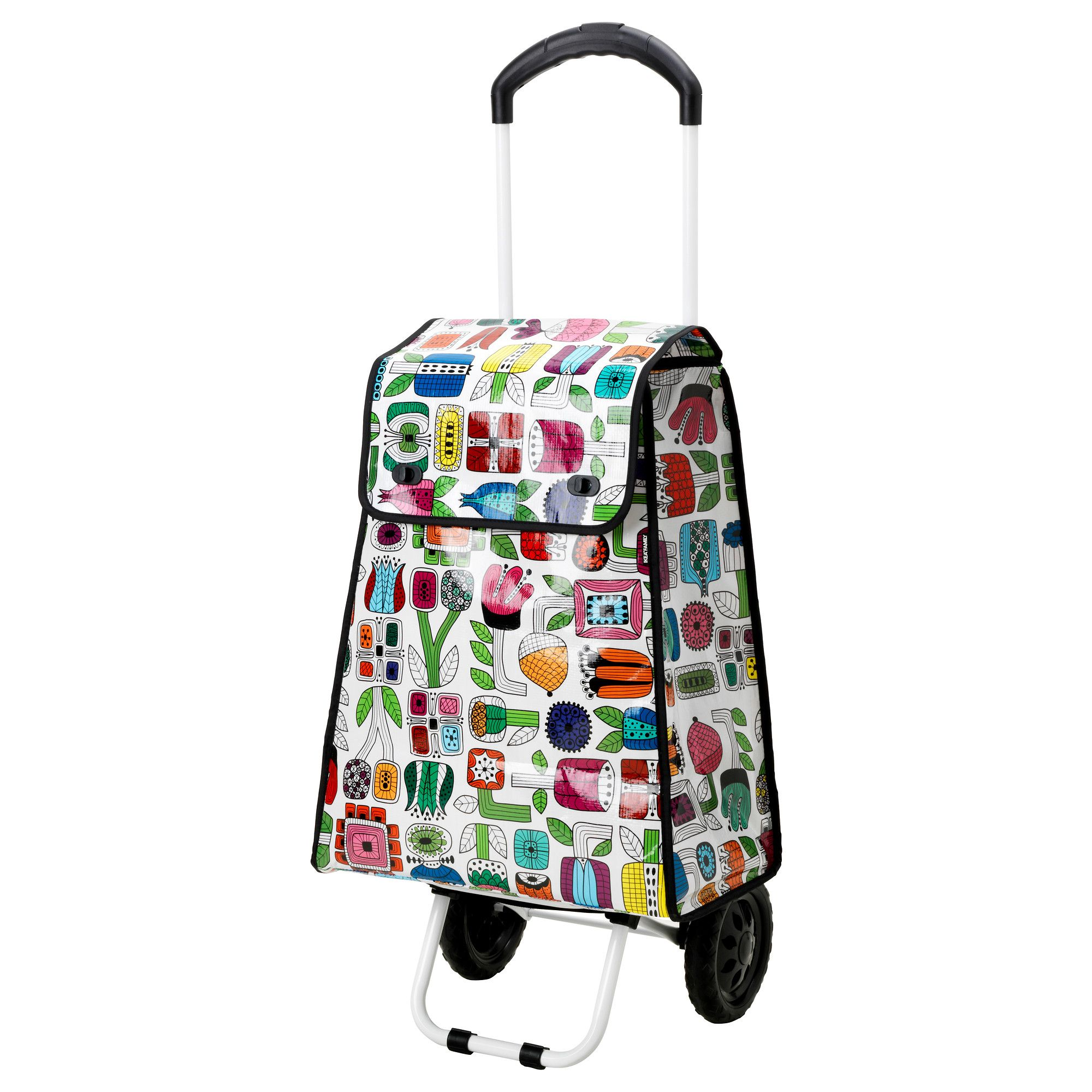 prydlig shopping bag with wheels ikea nesting things for