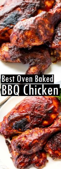 Photo of Best Oven Baked BBQ Chicken