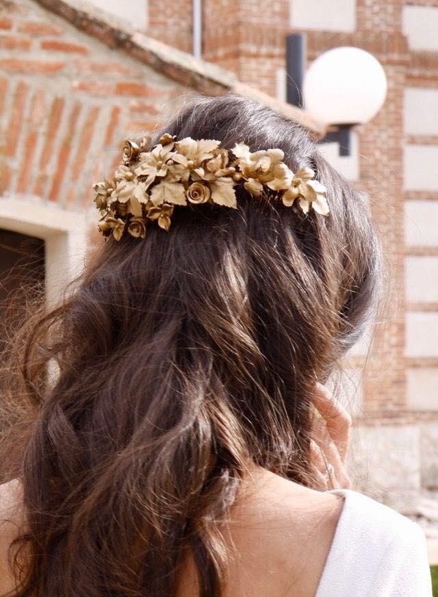 Tocados de novia e invitada Ernesto Terrón  3c01543767e