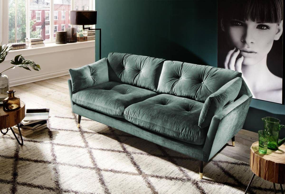 Sofa Japan 3 Sitzer Dunkelgrun Online Bei Poco Kaufen Sofa Graues Sofa Sofa Design