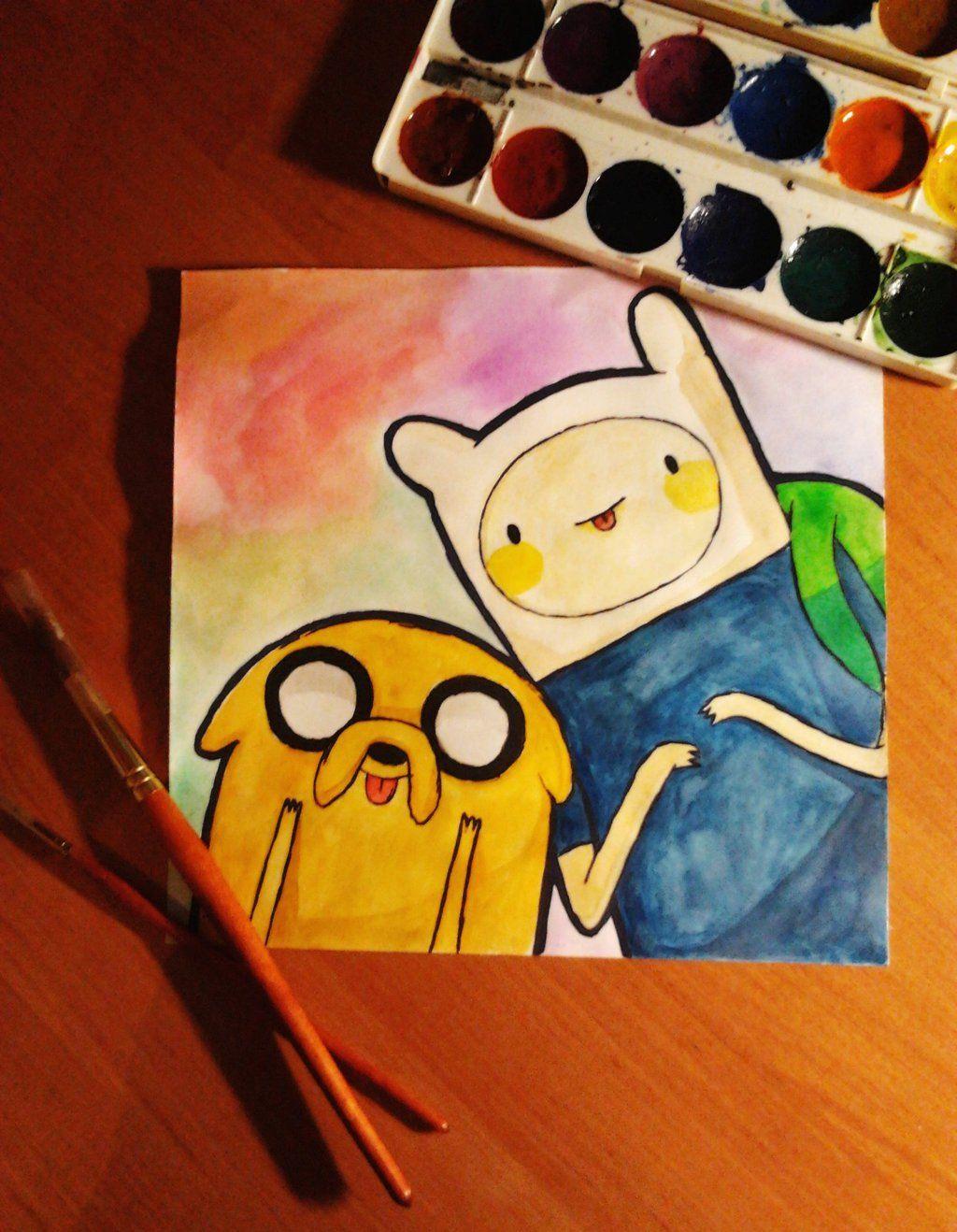 It's Adventure Time! by YuliaVanity.deviantart.com on @deviantART