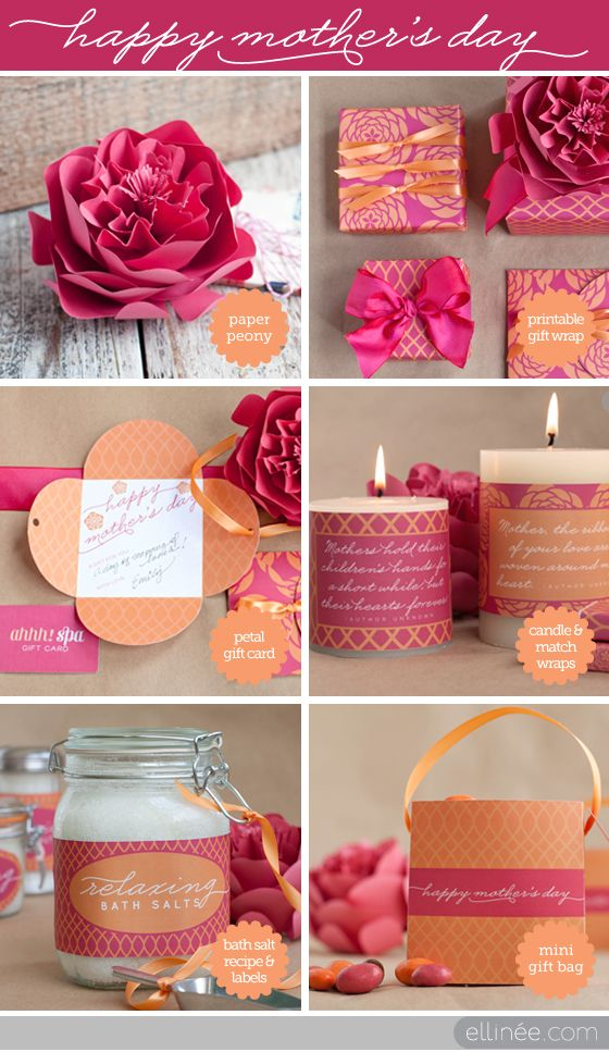 Diy Mother S Day Gift Ideas The Elli Blog Gift Ideas Diy