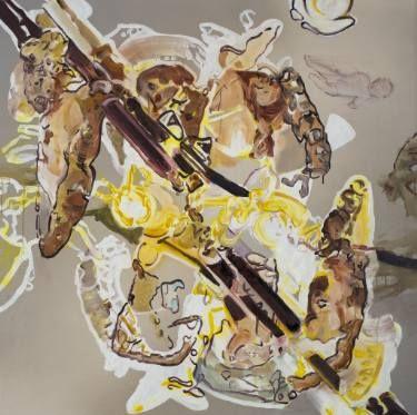 "Saatchi Art Artist Lambert Oostrum; Painting, ""Reflection 2017"" #art"