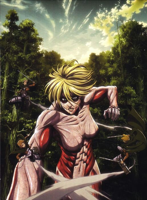 Levi Squad Vs Female Titan Attack On Titan Anime Attack On Titan Attack On Titan Art