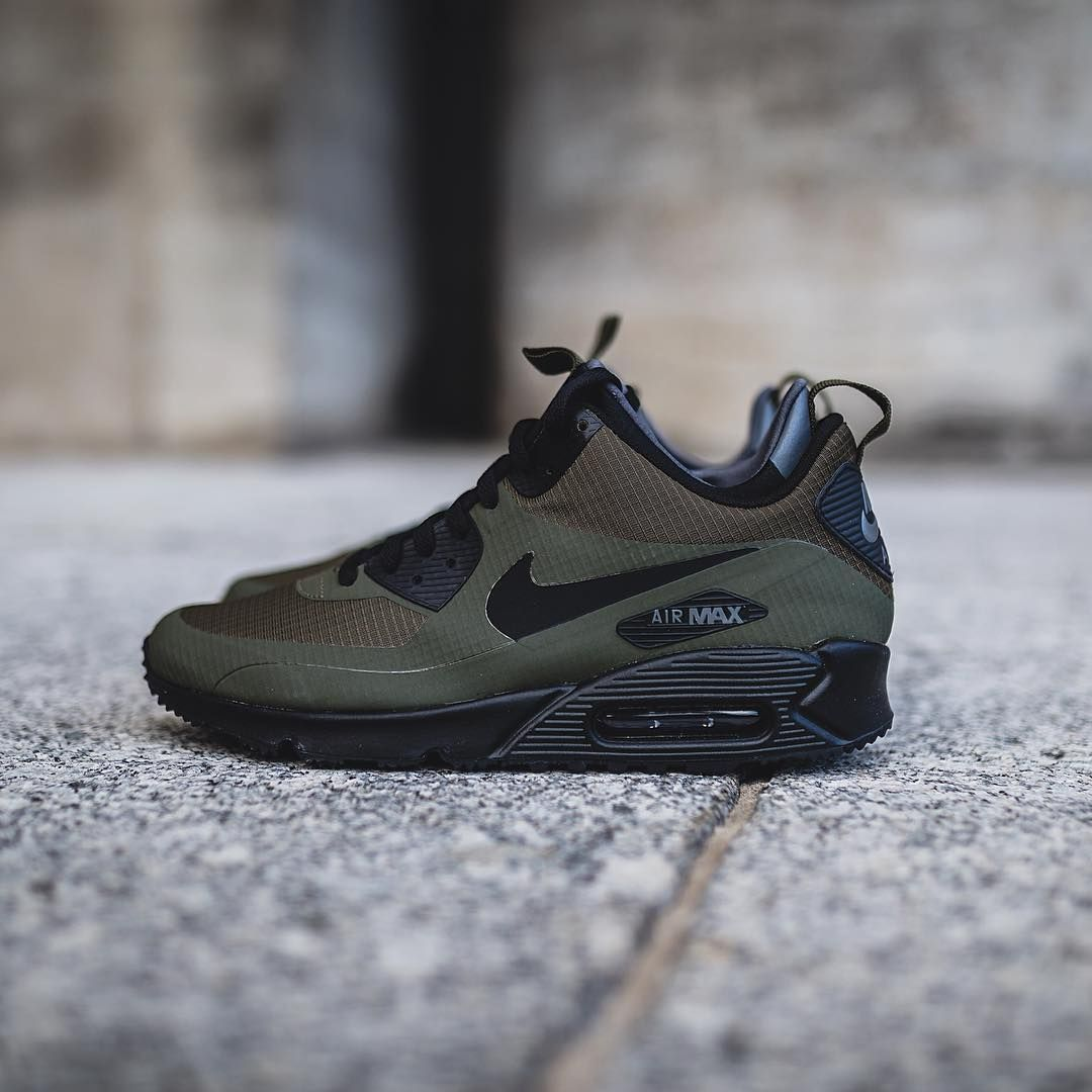wholesale dealer 9d1b1 6d56f NIKE AIR MAX 90 UTILITY  DARK LODEN BLACK-DARK GREY