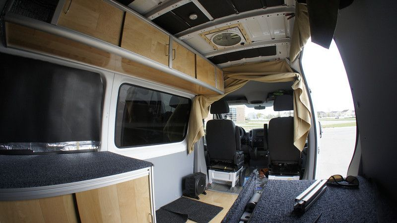 Building My Adventure Van 2011 Ncv3 Upper Cabinets 80 20