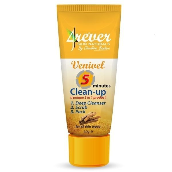 4ever 5 Minutes Cleanup 60g Combination Of A Deep Cleanser Scrub