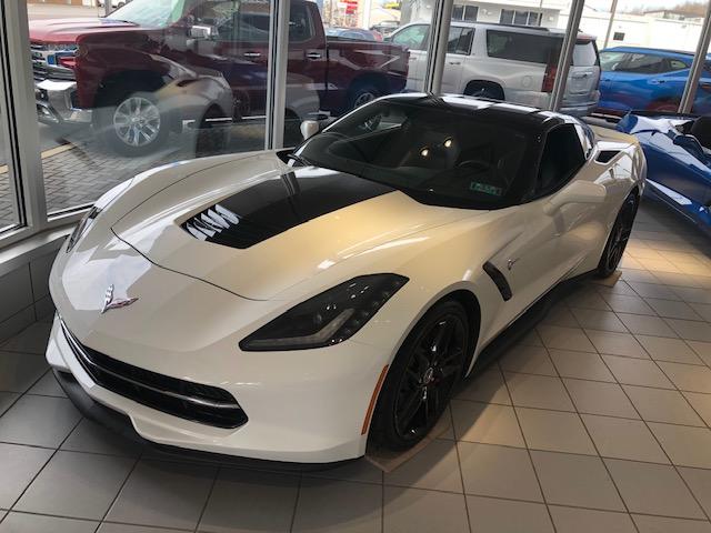 2015 Corvette Coupe For Sale In Pennsylvania 2015 Corvette Stingray Z51 Coupe 2lt In 2020 Corvette For Sale White Corvette Corvette