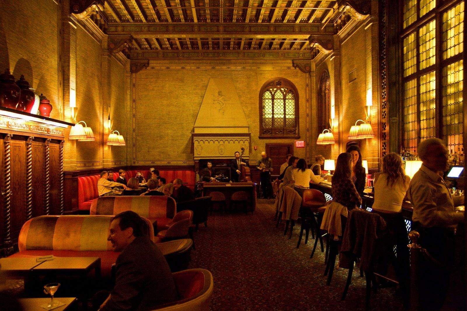 New York Central Railroad Bistro Food Cafe Apartment Bar Living