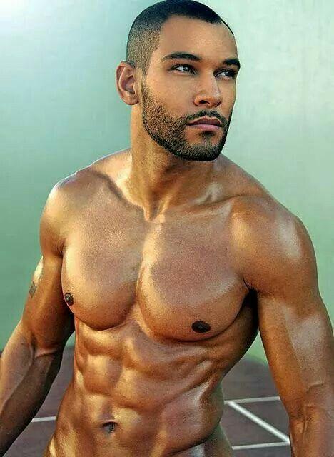 Muscular Black Guy
