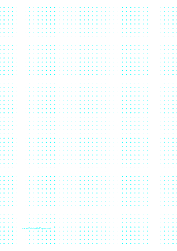 photo about Printable Dot Paper for Bullet Journal known as This printable dot paper includes a person dot each and every 5 millimeters and