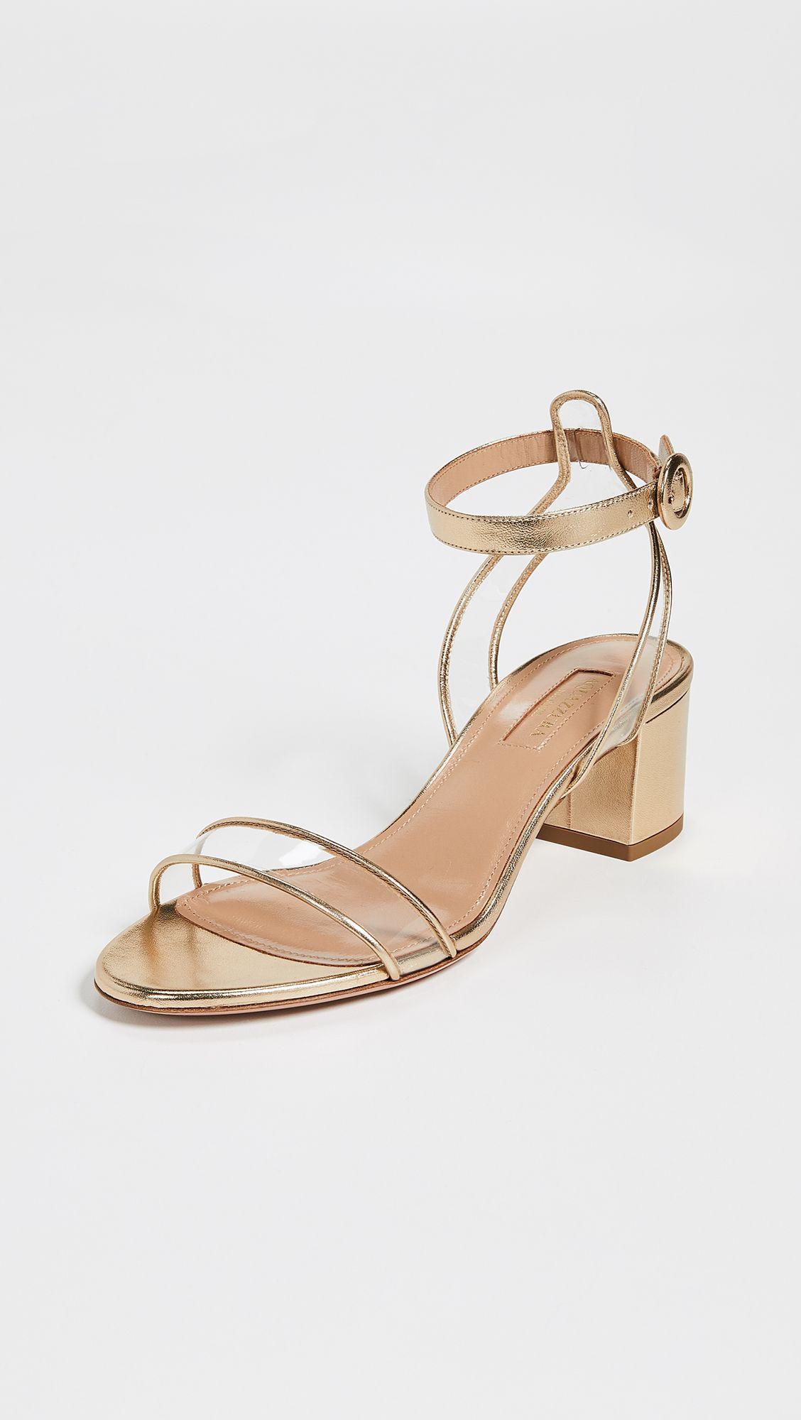 dd8d12b9ae4 Aquazzura - Minimalist 50 Sandals | Evening Shoes You'll Want To Buy ...
