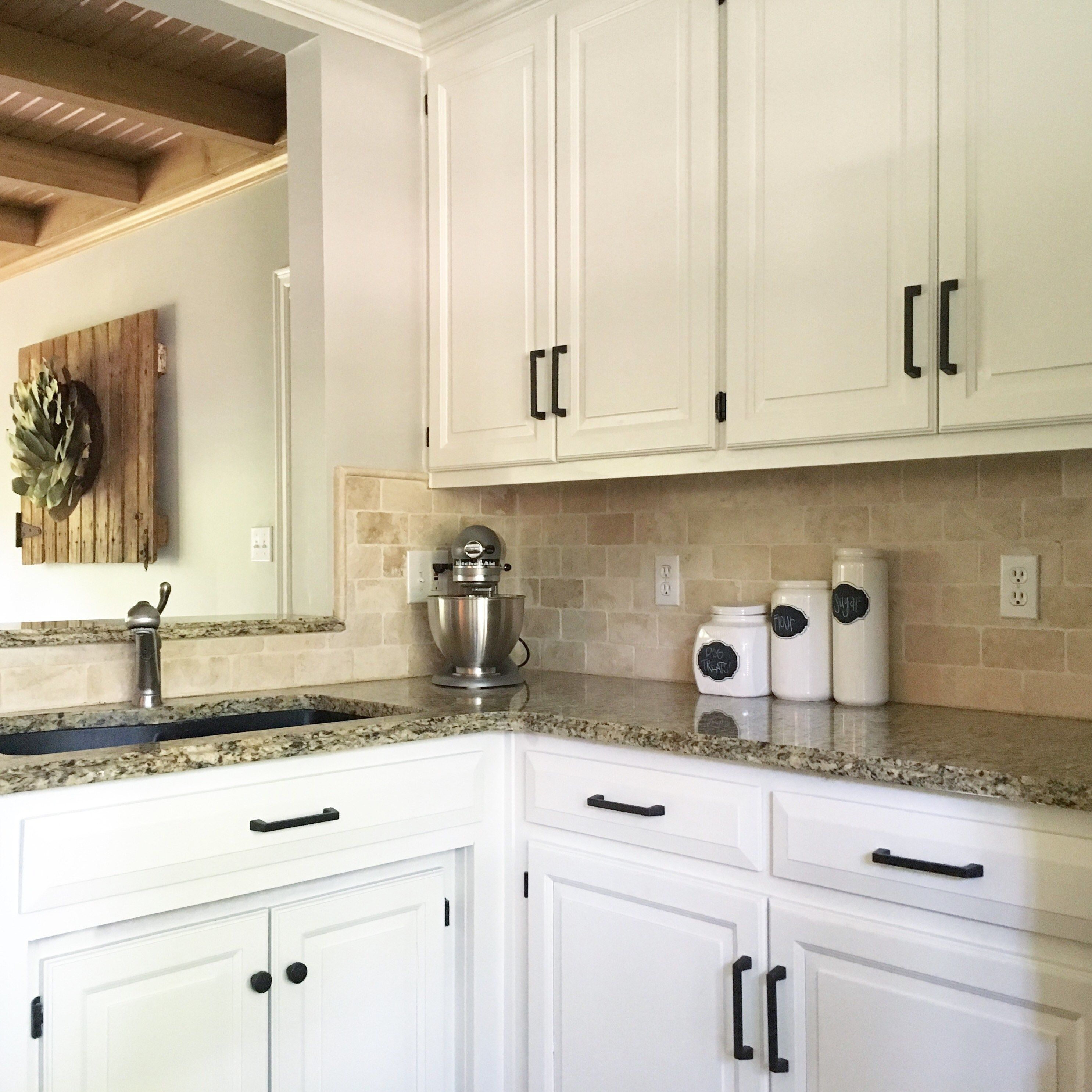 Sherwin Williams Alabaster White Kitchen Cabinets Kitchen