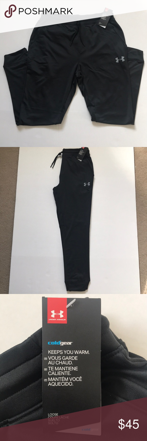 Under Armour Loose Coldgear Joggers Joggers Armours And Ea