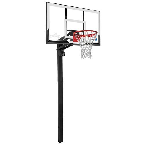 Spalding 54 Acrylic Inground Basketball Hoop Basketball Hoop Basketball Systems Nba Basketball Shorts