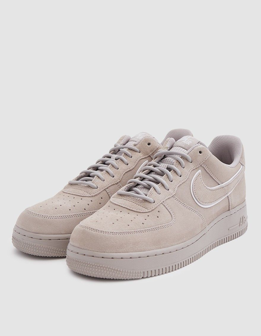 Nike Air Force 1 07 Lv8 Suede Sneaker In Moon Particle Sneakers Hype Shoes Suede Sneakers