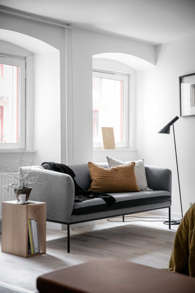 A light filled bedroom with a sofa. A light filled bedroom with a sofa   Interior   Pinterest