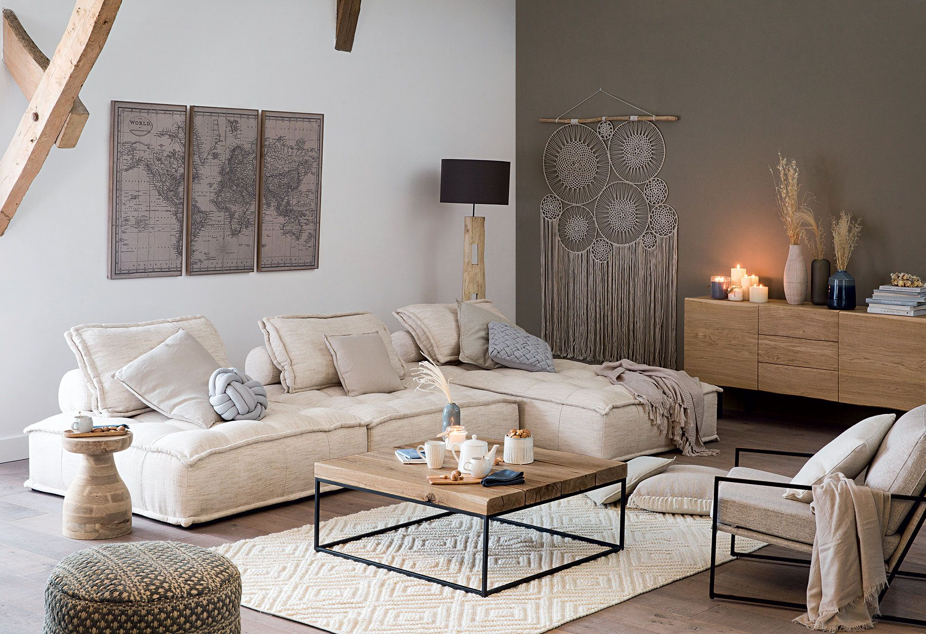 Tips to Create Meuble Salon Bois Maison Du Monde
